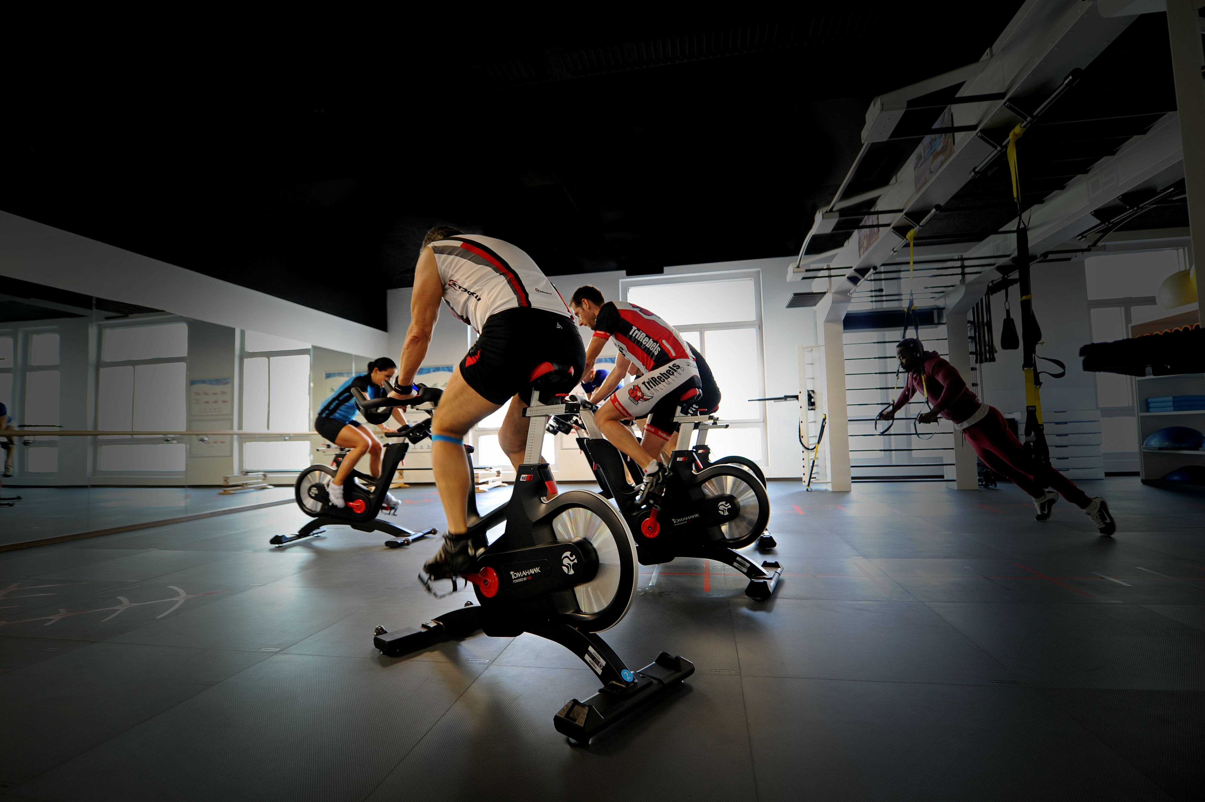 Trening grupowy Indoor Cycling