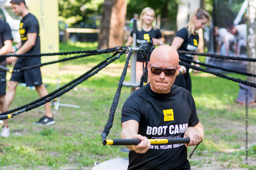 Trening z RIP TRAINEREM na TRX BOOT CAMP